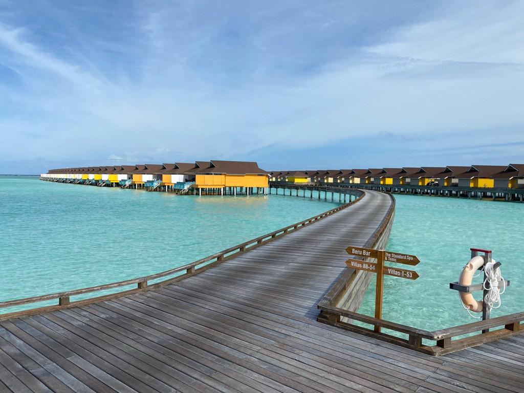 Vandvillaerne på The Standard Maldives