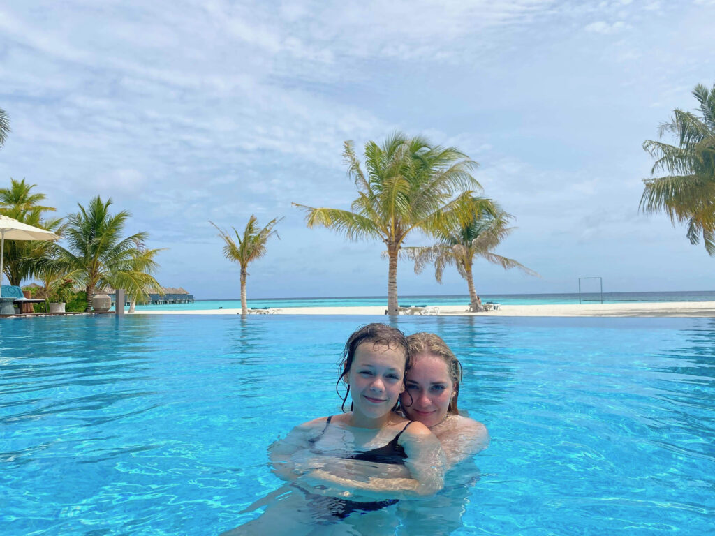Maafushivaru's smukke swimmingpool